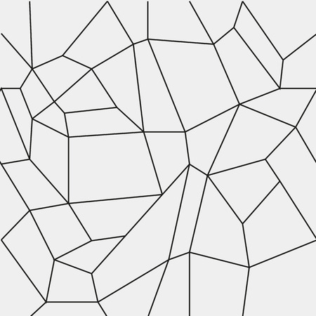 mesh texture: Geometric simple black and white minimalistic pattern, rectangles or stained-glass window. Can be used as wallpaper, background or texture