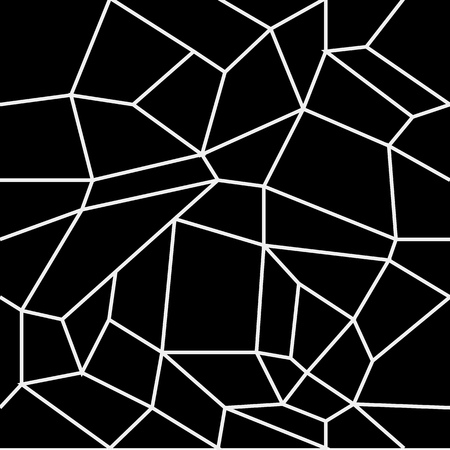 Geometric simple black and white minimalistic pattern, rectangles or stained-glass window. Can be used as wallpaper, background or texture
