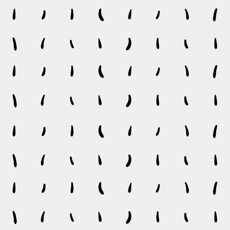 dash: Monochrome minimalist hand drawn pattern dash