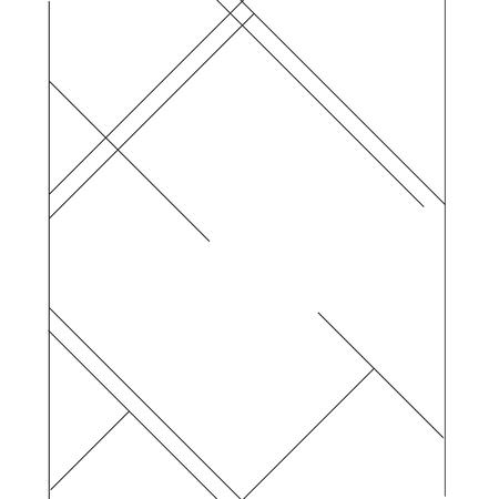 Geometric minimalist pattern. Lines, monochrome. Illustration