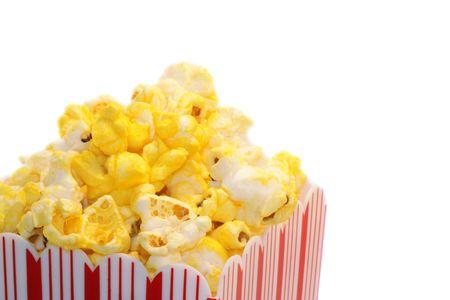 Popcorn bucket Фото со стока