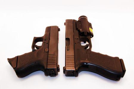 minted: Pistol comparison