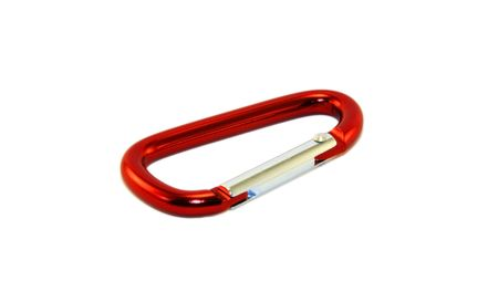 carabineer: Karabiner isolated