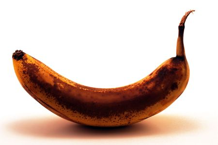 Aged banana