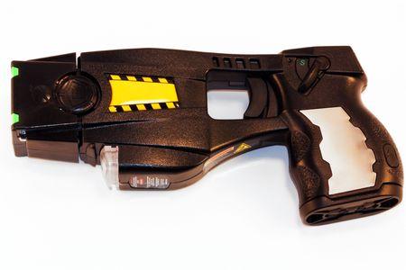 lazer: Stun gun Stock Photo
