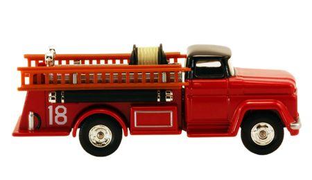 camion pompier: Modèle firetruck Banque d'images