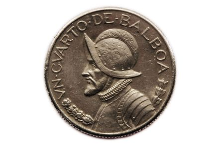 spainish: Spainish Coin Stock Photo