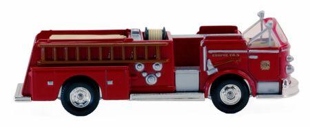 rescuing: Pumper firetruck Stock Photo