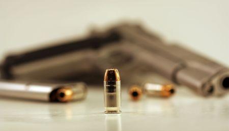 primer: Bullets Stock Photo