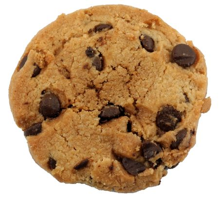 chocolate cookie: Cookie de chocolate chip