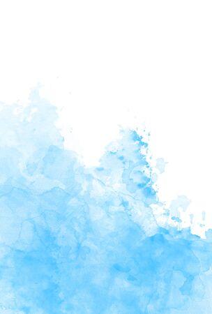 blue paint splashes background