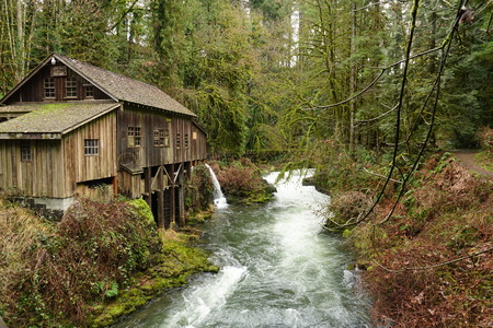 Winter at the Grist Mill in Washington