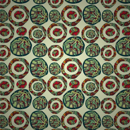 seamless pattern background Illustration
