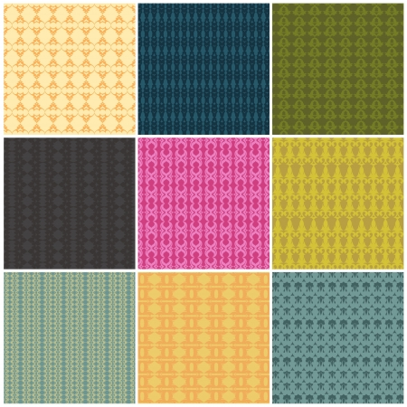 set nine patterns seamlessly