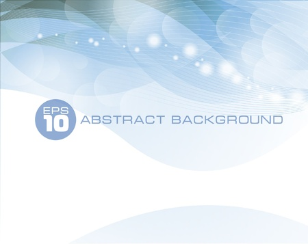 Abstract vector blue business background Illustration