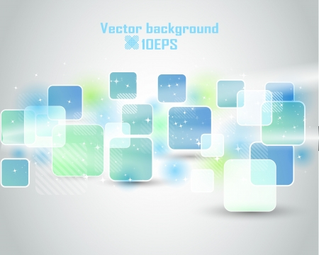 Abstract  blue Vector Background  Illustration