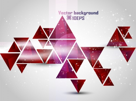Abstract  red Vector Background  Illustration