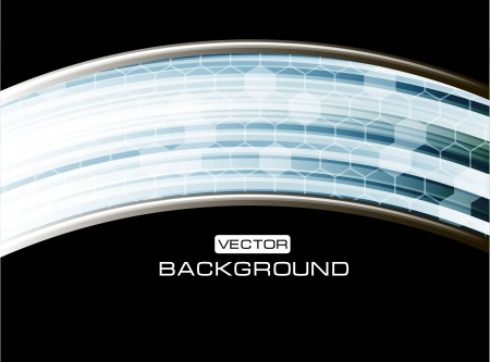 Abstract Vector hi-tech background Stock Vector - 17031450