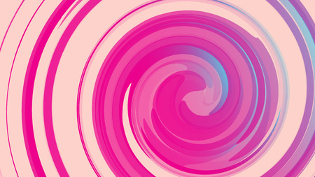 A pink abstract texture, the background of cosmic energetic magical beautiful bright multicolored bubbles bubbles circles lines of spirals and geometric shapes. Vector illustration.