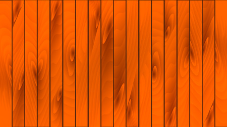 Beautiful luxurious wooden brown boards with knots, seams and wood texture. The texture of the wooden floorboard, parquet. The background. Vector illustration.