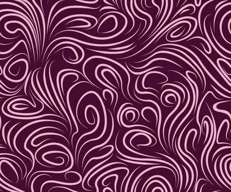 Beautiful pattern in purple tones  Vector