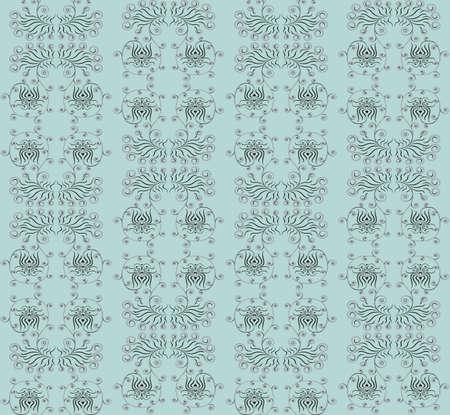 Ornate seamless wallpaper