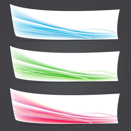 Abstract color vector backgrounds