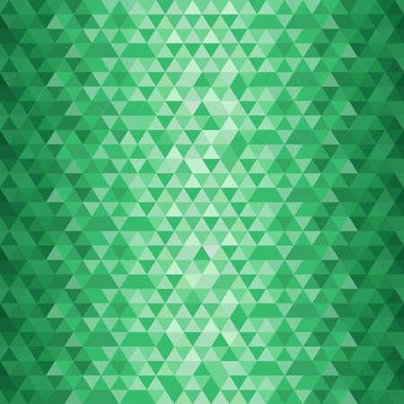 Emerald geometrical pattern