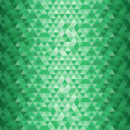Emerald geometrical pattern