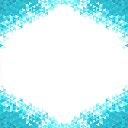 Abstrakten Hintergrund mit blauen Kristallen
