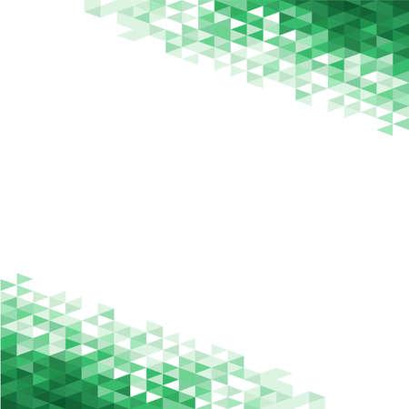 Zusammenfassung Hintergrund mit gr�nen Kristallen