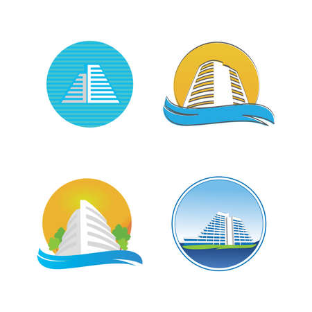 Icons for hotel. Format EPS 10.
