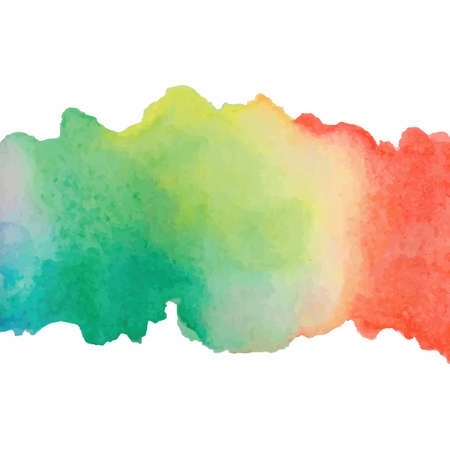 Abstract bright watercolor background. Vector illustration. Illustration