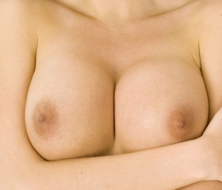 girl boobs: beautiful pair of large  female breasts