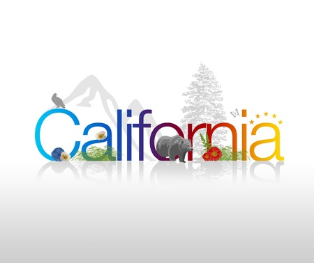 california coast: Gr�fico alta resoluci�n de California