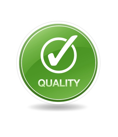 High resolution graphic of 100% customer satisfaction icon. Stock Photo - 8715062