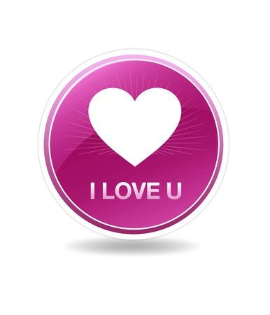i love u: High resolution icon with the words i love u.