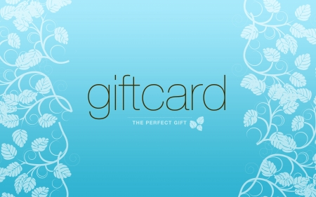 High resolution gift card graphic - the perfect gift. Stock Photo