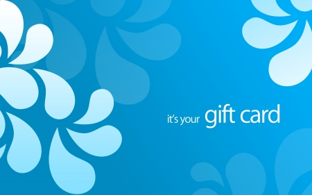 High resolution gift card graphic - its your gift card. Фото со стока