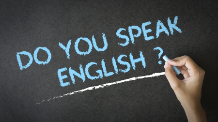 Sprechen Sie Englisch Standard-Bild - 17192147