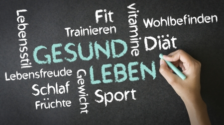 medizin: Gesund Leben Stock Photo
