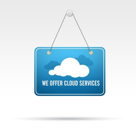 We offer Cloud Services Stok Fotoğraf - 16975998