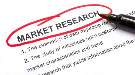 censo: Mercado explicaci�n Investigaci�n de encabezar un c�rculo rojo.