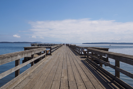 Sidney Pier on a beautiful summer day