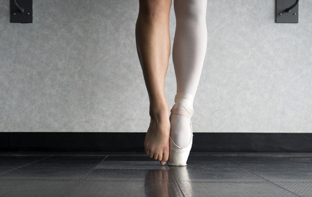 En pointe and the behind the scenes of a ballet dancers hard work and training