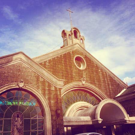 parish: Parish of the Hearts of Jesus and Mary Stock Photo