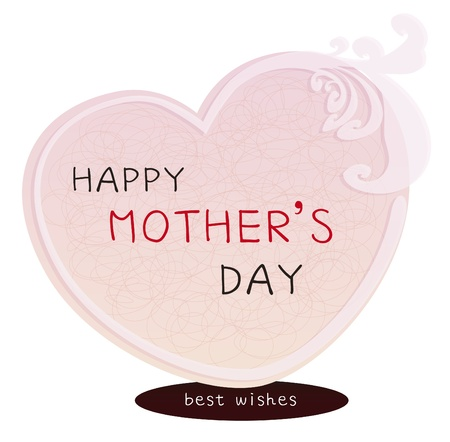 Happy Mother s Day card illustration Stock Vector - 13616510