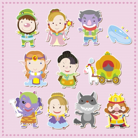 cartoon story people icons,vector,illustration Stock Vector - 17017198