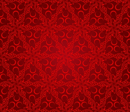 seamless abstract floral pattern background,vector Vector