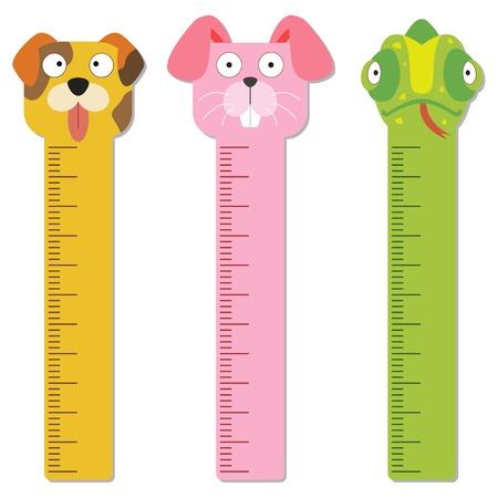 millimeters: cute bumper children meter wall